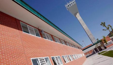 Vista d'Estremera, on hi ha Junqueras i cinc consellers. Bassa i Borràs són a Alcalá Meco.