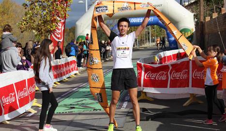 La prova va reunir uns 200 corredors en les dos distàncies que tenia previstes el Runners Balaguer.