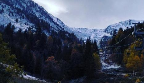 Els cims de Tavascan, al Pallars Sobirà.