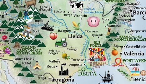INTERNET. Com seria Catalunya si fos en territori nord-americà?