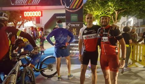 Toni Domènech, de Mollerussa, 'finisher' a la Ultraman de Sevilla