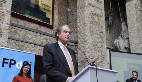 El president de la Fundació Princesa de Girona, Francisco Belil.
