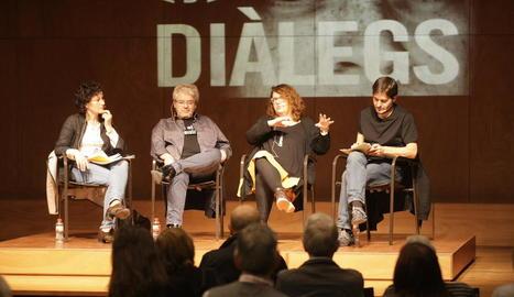 A l'acte van participar l'escriptor Màrius Serra, Marisol López i l'actor lleidatà Enric Blasi.