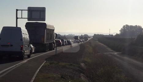 Cortes de tráfico por la huelga del 8 de noviembre