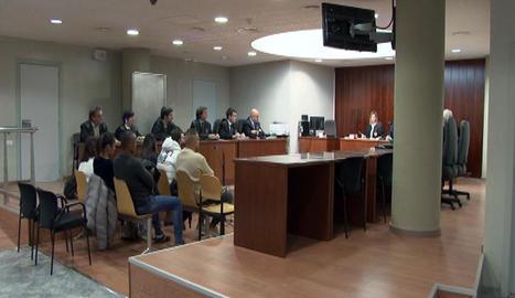 El judici de conformitat es va celebrar ahir a l'Audiència de Lleida.