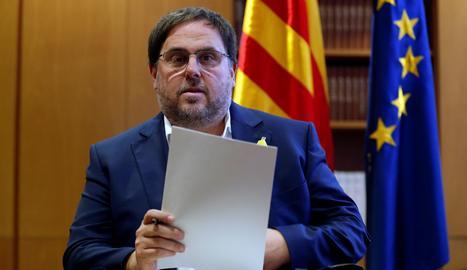 L'exvicepresident de la Generalitat, Oriol Junqueras.