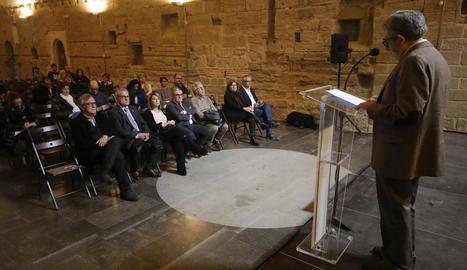 La situació política catalana marca la commemoració dels 310 anys de la caiguda de Lleida davant de les tropes borbòniques