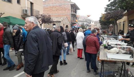 La Fira de la Perdiu reuneix dotze mil persones a Vilanova de Meià
