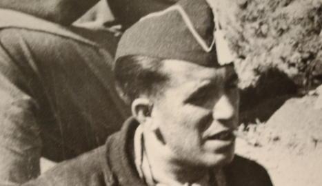 El fotògraf i protagonista de l'exposició, Agustí Centelles, que va arribar a Lleida l'endemà del bombardeig, el 3 de novembre del 1937.