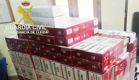 Intervenen tabac de contraban per un valor d'uns 8.000 euros en les Valls de Valira