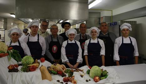 L'Escola d'Hoteleria i Turisme, que acollirà el sopar, va ser l'escenari ahir de la presentació.