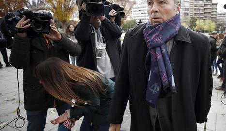 Agustín Martínez, advocat de tres dels joves acusats.