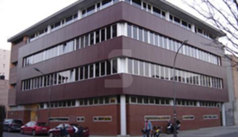 L'edifici de la seu del departament d'Ensenyament a Lleida.