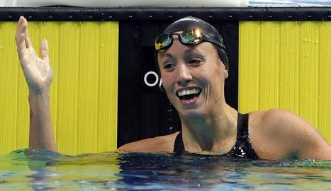 Jessica Vall, cinquena a la Copa del Món amb rècord d'Espanya