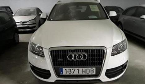 Imatge de l'Audi Q5 que era de Jordi Ausàs.