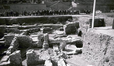 Restes arqueològiques a les obres del nou auditori