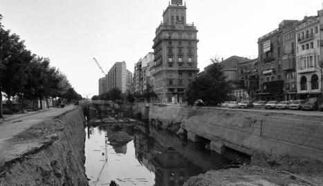 Una macroobra al centre de Lleida