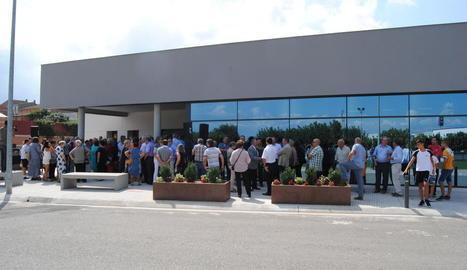 El Centre de Serveis de Fondarella es va inaugurar a l'estiu.