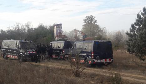 La policia actua per ordre del jutjat penal número 3 de Lleida