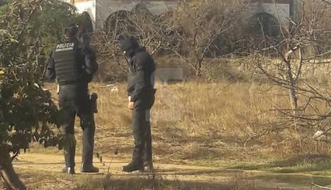 Els mossos desallotgen la casa okupada La Chispa de Lleida