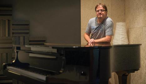 """David Pradas: """"Vaig compondre 'Umbilical' com una banda sonora del procés de l'embaràs"""""""