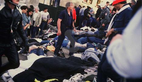 La tragèdia de Heysel commociona tot Europa