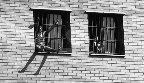 Vaga de fam i boques cosides a la presó de Lleida