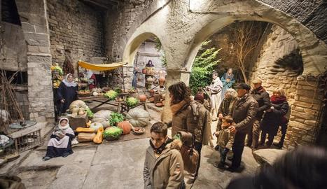 L'escenificació de Sant Guim és, amb 34 anys de trajectòria, la més antiga de Lleida.
