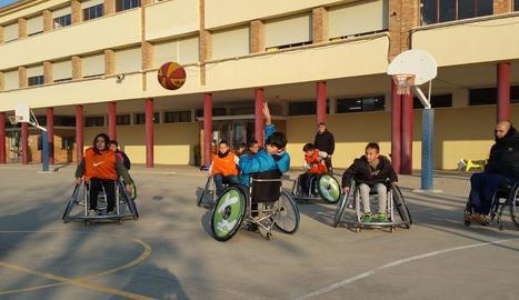 Esport inclusiu a l'escola Gaspar de Portolà de Balaguer