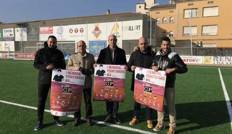 El Memorial Yeray Darias va ser presentat ahir a Balaguer.