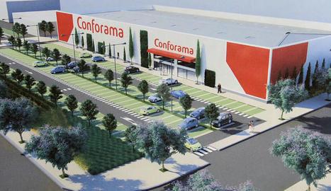 La multinacional Conforama, principal rival d'Ikea, obrirà una gran botiga a Copa d'Or