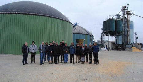 Una delegació xilena visita plantes de purins de Lleida