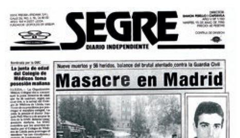 ETA mata un lleidatà a Madrid