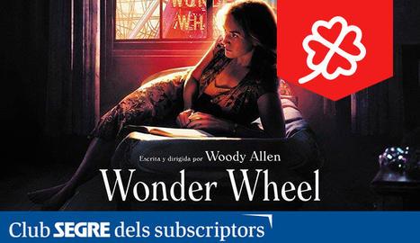 Cartell de la pel·lícula 'Wonder Wheel', escrita i dirigida per Woody Allen.