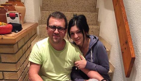 El guanyador, Eloi Esmet, amb un bon cistell de ceps de la Cerdanya.