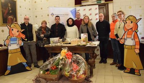 Un moment de la presentació de la nova campanya, ahir, a la Seu d'Urgell.
