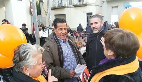 El PP va celebrar el dia de la Constitució a la plaça Sant Joan.
