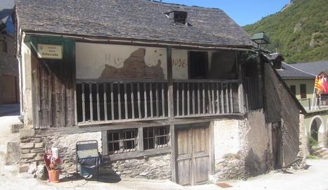 Imatge de l'estat actual de l'antic forn de pa des Bòrdes.