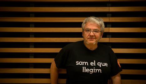 """Màrius Serra: """"La lectura sempre ha estat un fet minoritari, tampoc ens enganyem"""""""