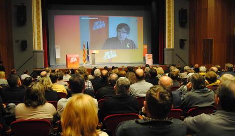 El teatre de L'Amistat.