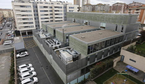 Vista del CAP Onze de Setembre, un dels tres centres de l'estudi.