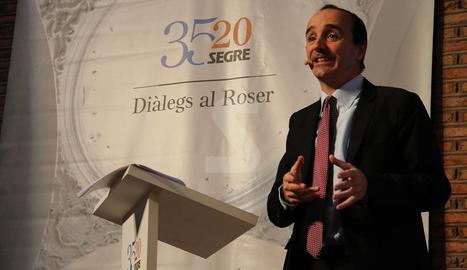 El director general de Renovables d'Endesa ha participat en la jornada organitzada amb motiu del 35è aniversari del diari SEGRE.