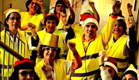 """VÍDEO. Treballadors del CAP de Les Borges feliciten el Nadal amb un vídeo contra el 155 i els """"polítics"""""""