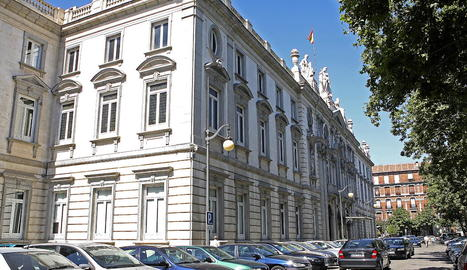 La seu del Tribunal Suprem, a Madrid, ha admès els recursos.