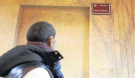 """Els CDR rebategen la rambla d'Aragó com """"de la Cultura"""""""