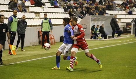 Lleida i Sabadell van oferir un duel intens, però amb poca presència a les àrees.