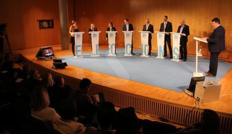 Debat electoral a Lleida TV