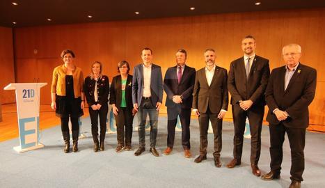 Debat organitzat pel Grup SEGRE que, com és tradicional, tanca les campanyes electorals, en aquesta ocasió les autonòmiques, en el qual participen els candidats lleidatans dels set partits amb representació parlamentària durant la legislatura anterior.