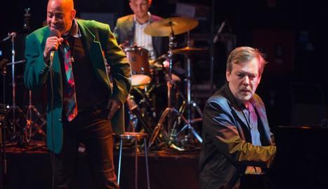 El nord-americà Randy Greer, amb Ignasi Terraza al piano.