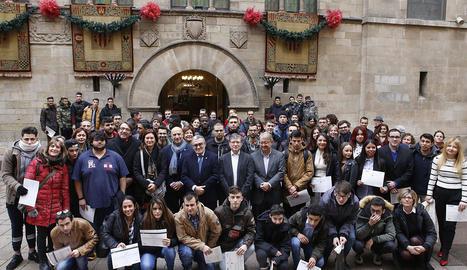 L'Institut Municipal d'Ocupació permet donar feina a setanta-sis joves